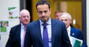 After a brief Icarian period in late 2017 and early last year, Taoiseach Leo Varadkar has definitively fallen to Earth. Photograph: Tom Honan