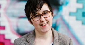 Lyra McKee who was shot dead in Derry. Photograph: Jess Lowe/EPA