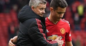 Ander Herrera is to leave Manchester United. Photograph: Paul Ellis/AFP