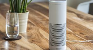 The Amazon Echo Plus. Photograph: iStock