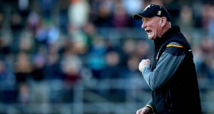 "Kilkenny manager Brian Cody: . It was inexplicable, really, that he (Kennedy) decides to catch the ball. It was certainly unprecedented. So I wasn't happy about it, no I wasn't."" Photograph: Ryan Byrne/Inpho"