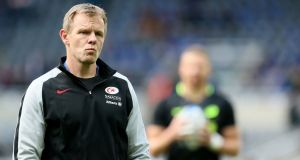 Saracens' director of rugby Mark McCall:  'The satisfaction you get is when you see how happy everybody is.' Photograph: Richard Sellers/PA Wire