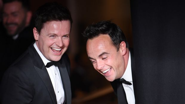 Declan Donnelly and Anthony McPartlin at the TV Baftas. Photograph: Neil Hall/EPA