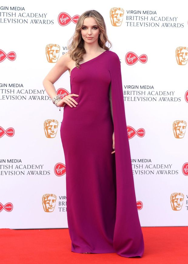 Killing Eve: Jodie Comer at the TV Baftas. Photograph: Jeff Spicer/Getty