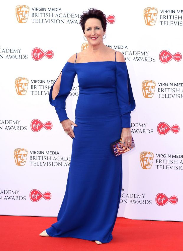 Killing Eve: Fiona Shaw at the TV Baftas. Photograph: Jeff Spicer/Getty