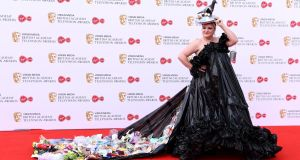 This Country: Daisy May Cooper at the TV Baftas. Photograph: Jeff Spicer/Getty