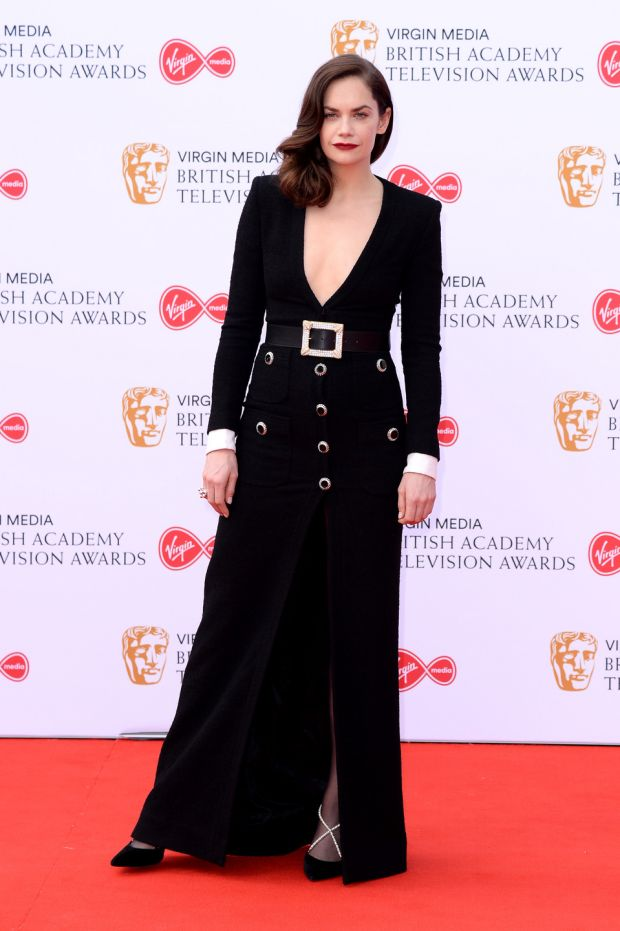 Nominee: Ruth Wilson at the TV Baftas. Photograph: Jeff Spicer/Getty