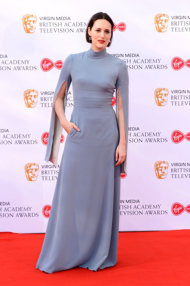Killing Eve: Phoebe Waller-Bridge at the TV Baftas. Photograph: Jeff Spicer/Getty