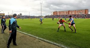 Dublin will take on Louth in Portlaoise on May 25th. Photograph: James Crombie/Inpho
