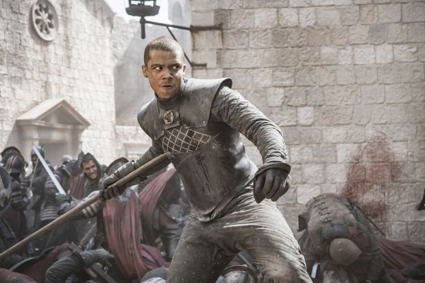 Game of Thrones: the episode was characterised by unrestrained carnage. Photograph: HBO