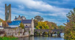 The heritage town of Trim, Co Meath. Average prices for residential property in the county have risen by about €15,000 in the past year.