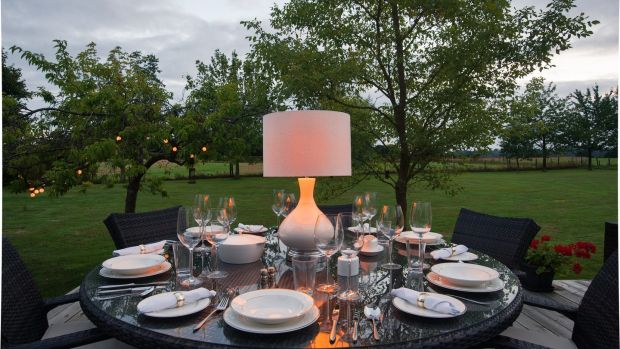Ambient outdoor lighting from Alexander Joseph.