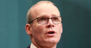 Tánaiste Simon Coveney: 'Everybody has to be willing to compromise. The problem is that some of the UK side don't seem to be willing to do that.' Photograph: Nick Bradshaw/The Irish Times