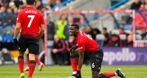 Manchester United's Paul Pogba and Alexis Sanchez will be in a hurry to forget this season. Photograph: PA