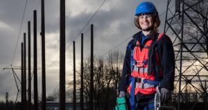Meg O'Kelly (24) from Dublin is one of the chosen few on the ESB's apprentice programme for network technicians.