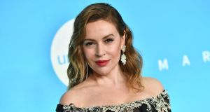 Alyssa Milano: 'Join me by not having sex until we get bodily autonomy back.' Photograph: Angela Weiss/AFP/Getty
