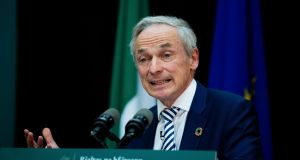 Minister for Communications Richard Bruton: 'The State's risk is absolutely capped. I think this is a good deal from the point of view of the taxpayer.' File photograph: Tom Honan