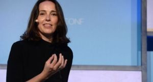 Nextdoor chief executive Sarah Friar pictured at Moneyconf in Dublin last year