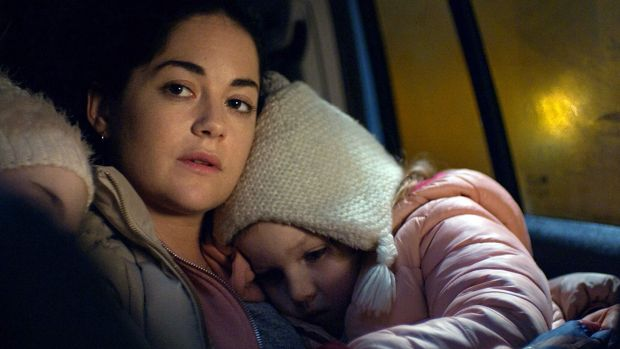 Sarah Greene and Molly McCann in Rosie
