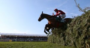 Davy Russell riding Tiger Roll to victory at the 2019 Grand National. Photograph:  Alex Livesey/Getty Images