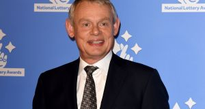 Actor Martin Clunes climbed on an elephant during last week's episode of ITV programme My Travels And Other Animals. File photograph: Lauren Hurley/PA Wire
