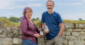 Kate and Denis Dempsey of Kinsale Mead. Kate says that if you ask seven mead makers a question you are guaranteed to get 10 different answers as everyone draws from their own  experience
