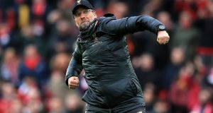 Liverpool manager Jurgen Klopp will hope his team can bring a sixth European Cup back to Anfield. Photograph: PA