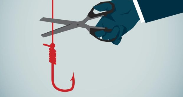 Most people are familiar with phishing, but it has now spawned the equally evil vishing and smishing. Illustration: iStock