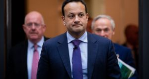 Taoiseach Leo Varadkar on Ireland's declaration of a climate emergency: 'It is a gesture, but symbols and gestures matter.' File photograph: Tom Honan