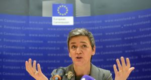 Margrethe Vestager's  team are clearly convinced there's a case to be answered. Photograph: Dara Mac Dónaill