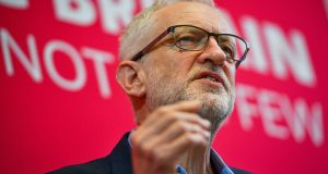 If the British prime minister and Jeremy Corbyn, above, cannot agree on a common position, the government's Plan B is to seek Labour's engagement with a process of 'definitive votes'. Photograph: Ben Birchall/PA Wire