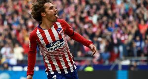 French striker Antoine Griezmann has told Atletico Madrid he will leave them in the close season. Photo: Getty Images
