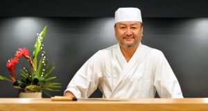 Japanese chef Takashi Miyazaki is among the speakers at a new food and design  festival in Cork this weekend. Photograph: Daragh Mc Sweeney/Provision