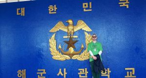 Patrick Conway from Co Derry lives in  south Korea