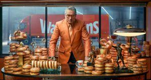 'Bolton bakes best bagel? My butt': Robert De Niro in the Warburtons TV ad. Photograph: Jeff Moore/Warburtons/PA