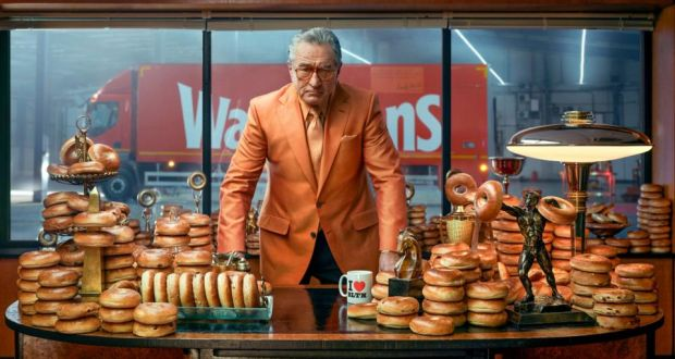 Robert De Niro's best work in years – and it's an ad for bagels