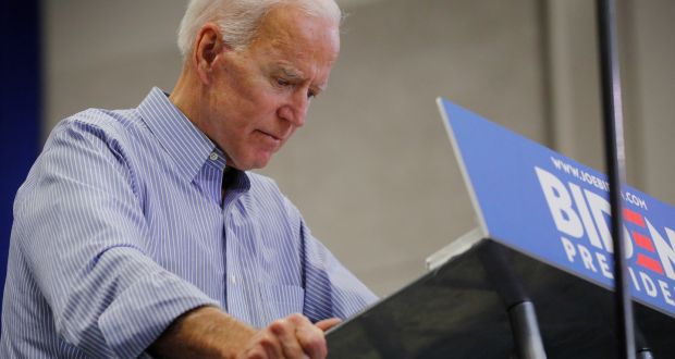 Fintan O'Toole: Who can beat Trump? Not Joe Biden