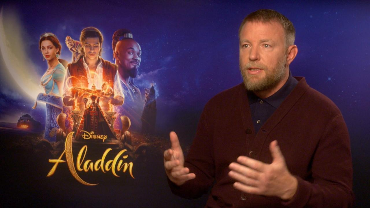 Guy Ritchie on directing Aladdin, the new Disney movie