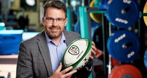 London Irish chief executive Brian Facer: 'The most important thing for any rugby club is to succeed on the pitch.' Photograph: Lee Christiansen