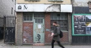 The €1.4 million sale of the old Manhattan Cafe  has been blocked by Dublin city councillors. Photograph: Laura Hutton/ The Irish Times