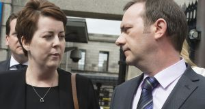 Ruth Morrissey and her husband Paul sued over her CervicalCheck smear tests. Photograph: Dave Meehan