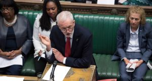 Jeremy Corbyn: Labour will not support the  prime minister's withdrawal Bill unless it has reached an agreement on the Brexit deal. Photograph: Jessica Taylor
