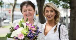 Overall winner of B&B Ireland Awards Agnes O'Sullivan of Taobh Coille B&B, Cahirciveen, Co Kerry, and her daughter Eileen O'Sullivan.