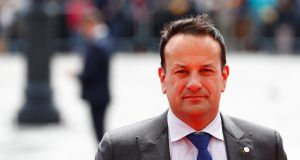 Taoiseach Leo Varadkar  said no matter when they announced the broadband plan, they would have been criticised – for electioneering or for burying it if they waited until after the local elections. Photograph:  Reuters/Francois Lenoir
