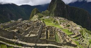 A two-week restriction to three important areas at Machu Picchu was announced last Friday to prevent greater degradation to the iconic Inca citadel. Photograph: Cris Bouroncle/Getty Images