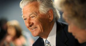 Bob Hawke attending the Labor Party campaign lauch in Brisbane for the 2010 general election. Photograph: William West/AFP/Getty Images)