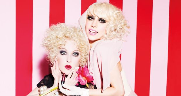 Viva Glam: Cyndi Lauper and Lady Gaga  promoted Mac's campaign in 2010