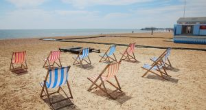 Hastings seafront. Photograph: Getty Images