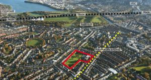The site at 80 Philipsburgh Avenue in Fairview is located 2km north of Dublin city centre.