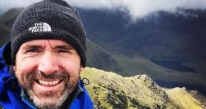 Seamus Lawless (39) was a part of an eight-member climbing expedition when he went missing after he reportedly fell. Photograph: Seamus Lawless/Facebook